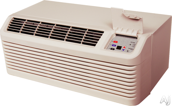 Amana DigiSmart PTH074G35AXXX 7,700 BTU Packaged Terminal Air Conditioner with 6,800 BTU Heat Pump Capacity, 3.7 kW Electric Heater, R410A Refrigerant, 11.7 Energy Efficiency Ration, DigiSmart Controls and 265V Capacity