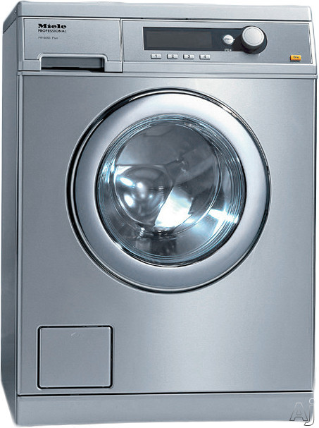 Miele Little Giant Professional PW6068 24 Inch Front Load Washer with 15 lb. Capacity, 11 Wash Cycles, 1,400 RPM, Sanitize Cycle, Wrinkle-Free Program, Automatic Load Control, 24-Hour Delay Start, Honeycomb Drum Light and Stainless Steel Honeycomb Wash Dr