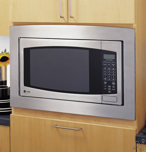 GE Profile Spacemaker Series JVM1790CK Bisque 1.7-cu-ft Over-the