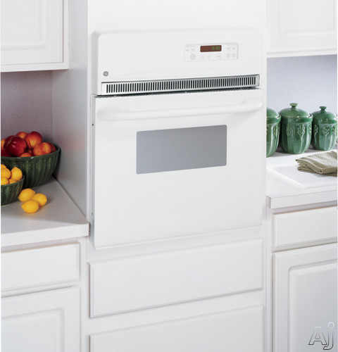"GE JRP20WJWW 24"" Single Electric Wall Oven with 2.7 cu. ft. Traditional Self Clean Oven, Interior, U.S. & Canada JRP20WJWW"