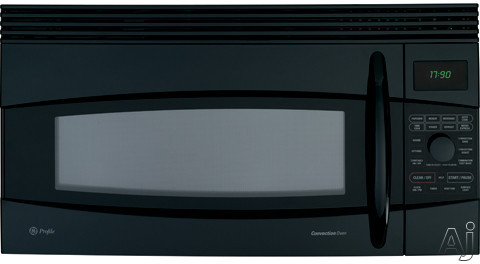 GE Profile Spacemaker Series JVM1790BK 1.7 cu. ft. Over-the-Range Microwave Oven with 1000 Cooking Watts, 10 Power Levels, Convection Cooking, Sensor Cooking, T