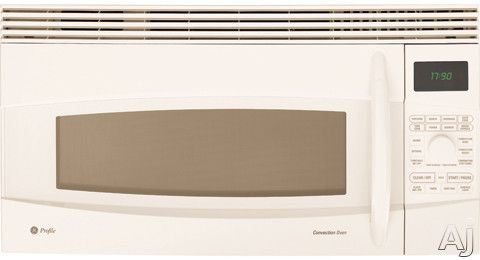 GE Profile Spacemaker Series JVM1790CK 1.7 cu. ft. Over-the-Range Microwave Oven with 1000 Cooking Watts, 10 Power Levels, Convection Cooking, Sensor Cooking, T