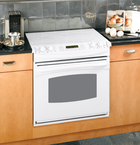 Ge Jd968tkww 30 Quot Drop In Electric Range With Ceramic Glass