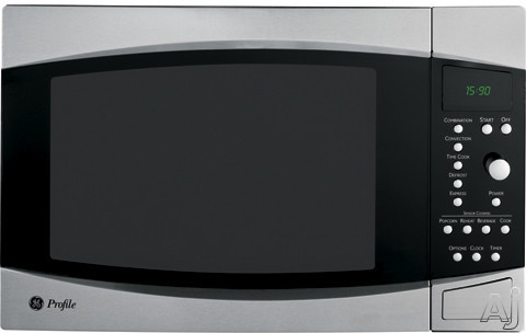GE Profile PEB1590SMSS 1.5 cu. ft. Countertop Microwave Oven with 1000 Cooking Watts, Sensor, U.S. & Canada PEB1590SMSS