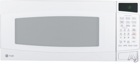 GE Profile Spacemaker II PEM31DMWW 1.0 cu. ft. Countertop Microwave Oven with 800 Watts, 10 Power, U.S. & Canada PEM31DMWW