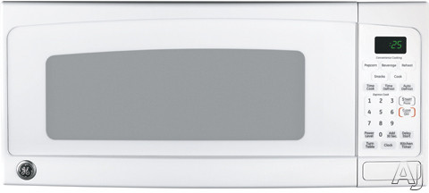 GE Spacemaker II JEM25DMWW 1.0 cu. ft. Countertop Microwave Oven with 800 Watts, 10 Power Levels, U.S. & Canada JEM25DMWW