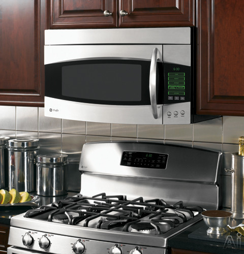Ge Pvm2070 2 0 Cu Ft Over The Range Microwave Oven With