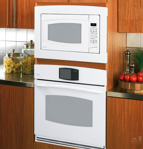 "GE JX2030DMWW 30"" Deluxe Built-In Trim Kit for GE Countertop Microwaves: White, U.S. & Canada JX2030DMWW"