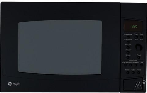 GE Profile PEB1590DMBB 1.5 cu. ft. Countertop Microwave Oven with 1000 Cooking Watts, Sensor, U.S. & Canada PEB1590DMBB