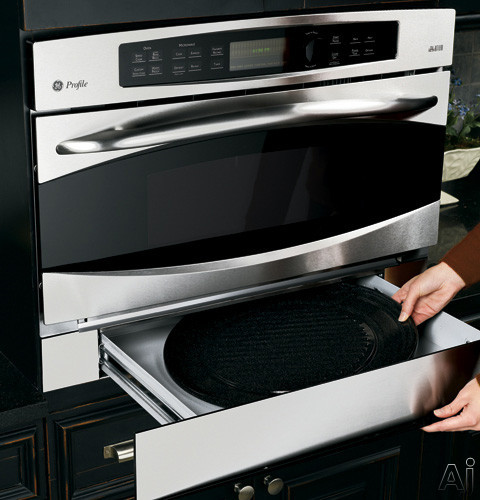 Ge Jx2200nbb Advantium 240v Wall Oven Storage Drawer Black