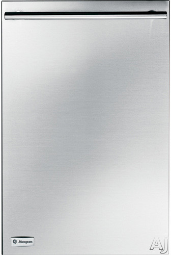 Monogram ZBD1800N 18 Inch Fully Integrated Dishwasher with 7 Wash Cycles 5 Wash Levels StemSafe Shelf 60 dBA Silence Rating and ADA Compliant