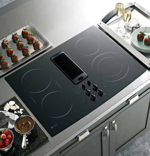 Best Electric Cooktops With Grill ~ Jennair electric downdraft cooktop with grill and two