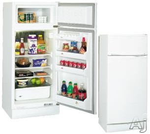 Danby DPR2262W 7.8 cu. ft. Freestanding Propane Top-Freezer Refrigerator with Manual Defrost, Auto Lighter and Reversible Door