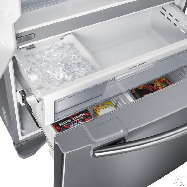 Samsung Rf20hfenbbc 19 43 Cu Ft French Door Refrigerator