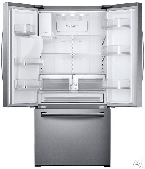 Samsung Rf26j7500sr 25 5 Cu Ft French Door Refrigerator