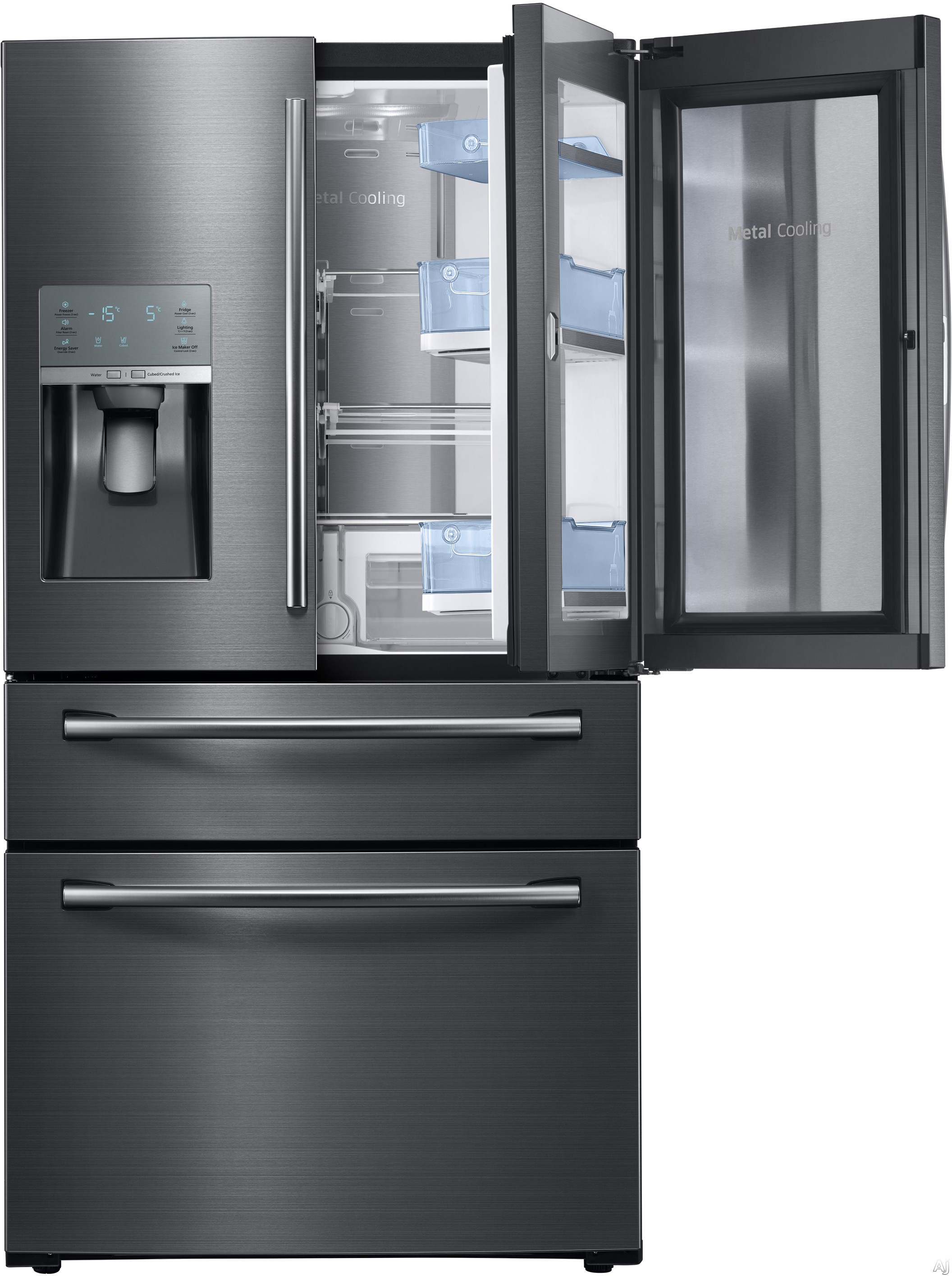 Samsung Rf28jbedbsg 28 Cu Ft French Door Refrigerator