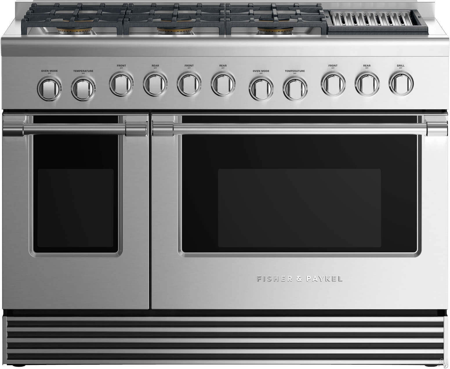 Fisher & Paykel Professional RGV2486GLXN 48 Inch