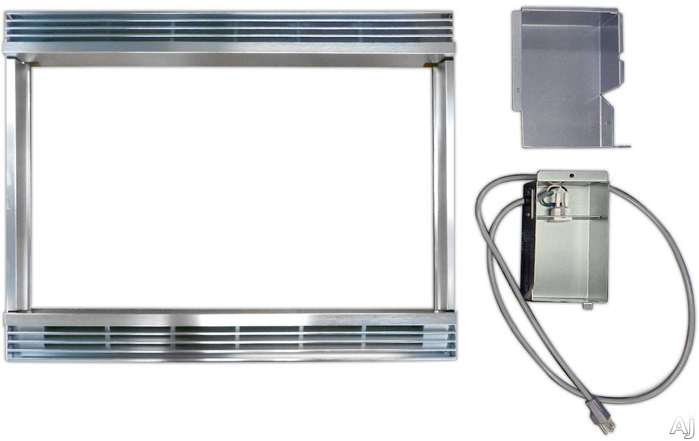 Sharp RK94S30M Built-In Trim Kit - 30 Inch Cutout: Stainless RK94S30M