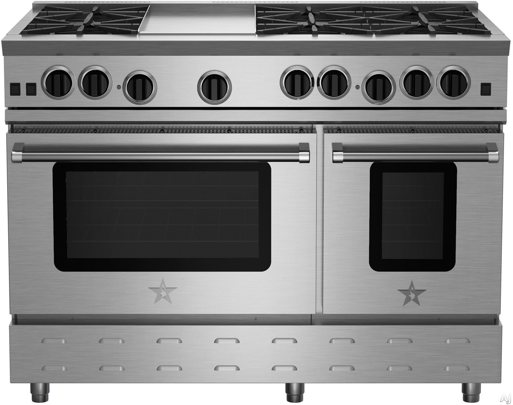 Front View (photo does not represent cooktop configuration)