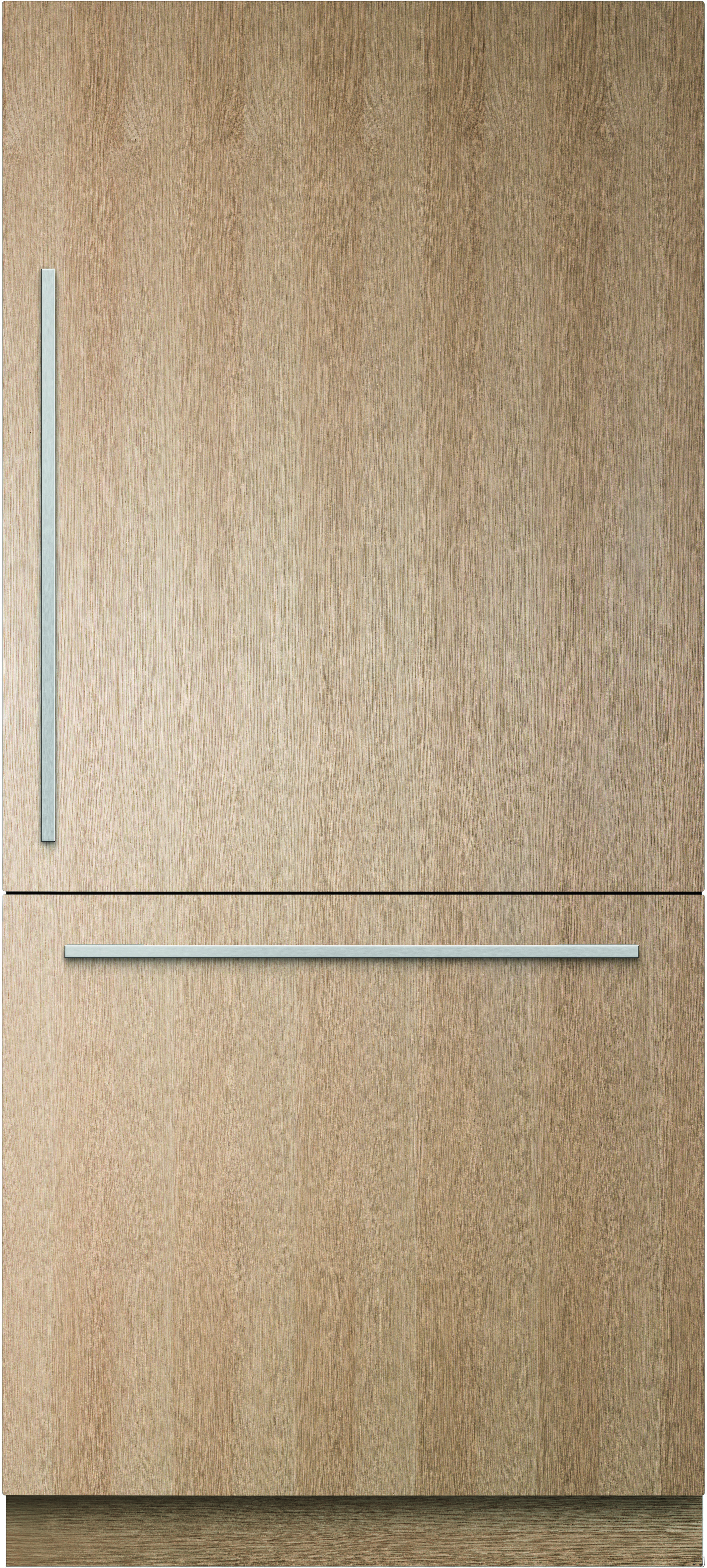 Fisher & Paykel Active Smart RS36W80XJ1 36 Inch Built-In Panel Ready Bottom-Freezer Refrigerator with 16.8 cu. ft. Capacity, Adjustable SpillSafe Shelving, ActiveSmart Technology, Crisper Drawers, 4 Bottle Holders, Deli Bin, Bottle Chill, Fast Freeze, Ice