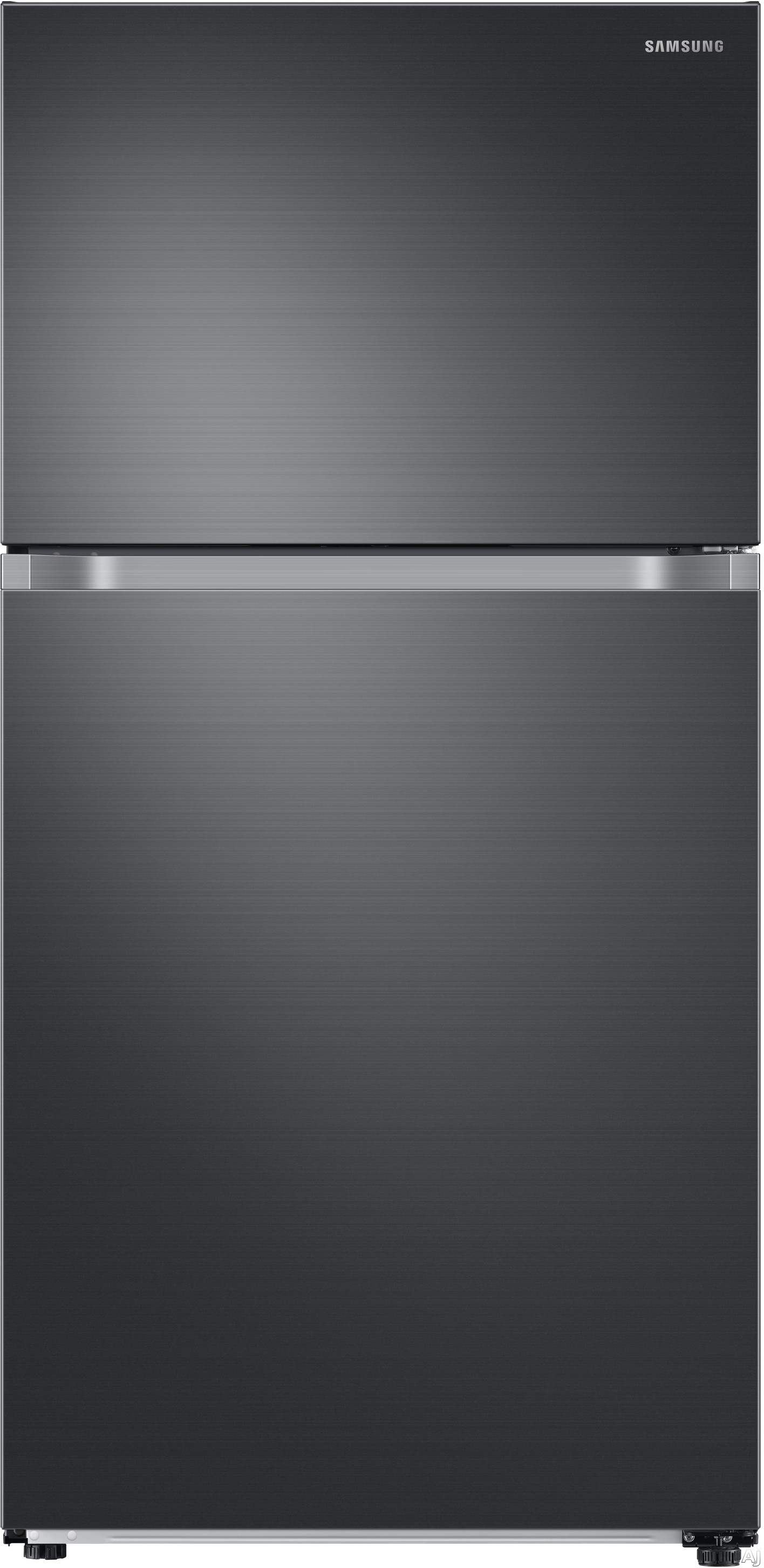 Samsung RT21M6213X 33 Inch Freestanding Top Mount Freezer Refrigerator with Twin Cooling Plus™, FlexZone™, Slide & Reach Pantry, Reversible Door, 21 cu. ft. Capacity, Energy Star® Rated and Star-K Certified