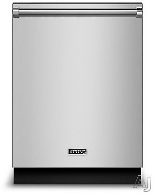 Viking RVDW103SS Fully Integrated Dishwasher with Quick Dry, Indicator Light, Multi-Level Wash, Adjustable Upper Rack, 50 dBA Quiet Clean™ Package, Water Softener, 12 Place Setting Capacity, 6 Cycles and ENERGY STAR®