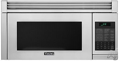 Viking RVMHC330SS 1.1 cu. ft. Over-the-Range Microwave Oven with Convection, Instant Sensor, 300 CFM, 10 Power Levels and Add-A-Minute