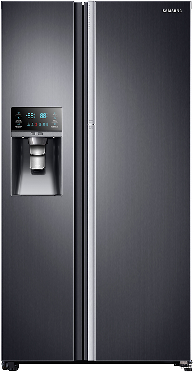 samsung 24 1 cu ft side by side refrigerator stainless html autos weblog. Black Bedroom Furniture Sets. Home Design Ideas
