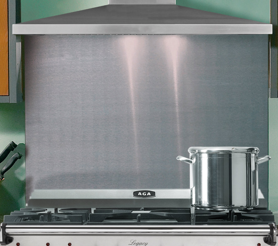 Picture of AGA SAPRO44SBSS 44 Inch Backsplash For Professional and Legacy Ranges: Stainless Steel