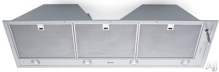 "Miele DA2210 44"" Built-in Mantel Hood Insert with 850 CFM Double Motor System, Four-Way Joystick, U.S. & Canada DA2210"