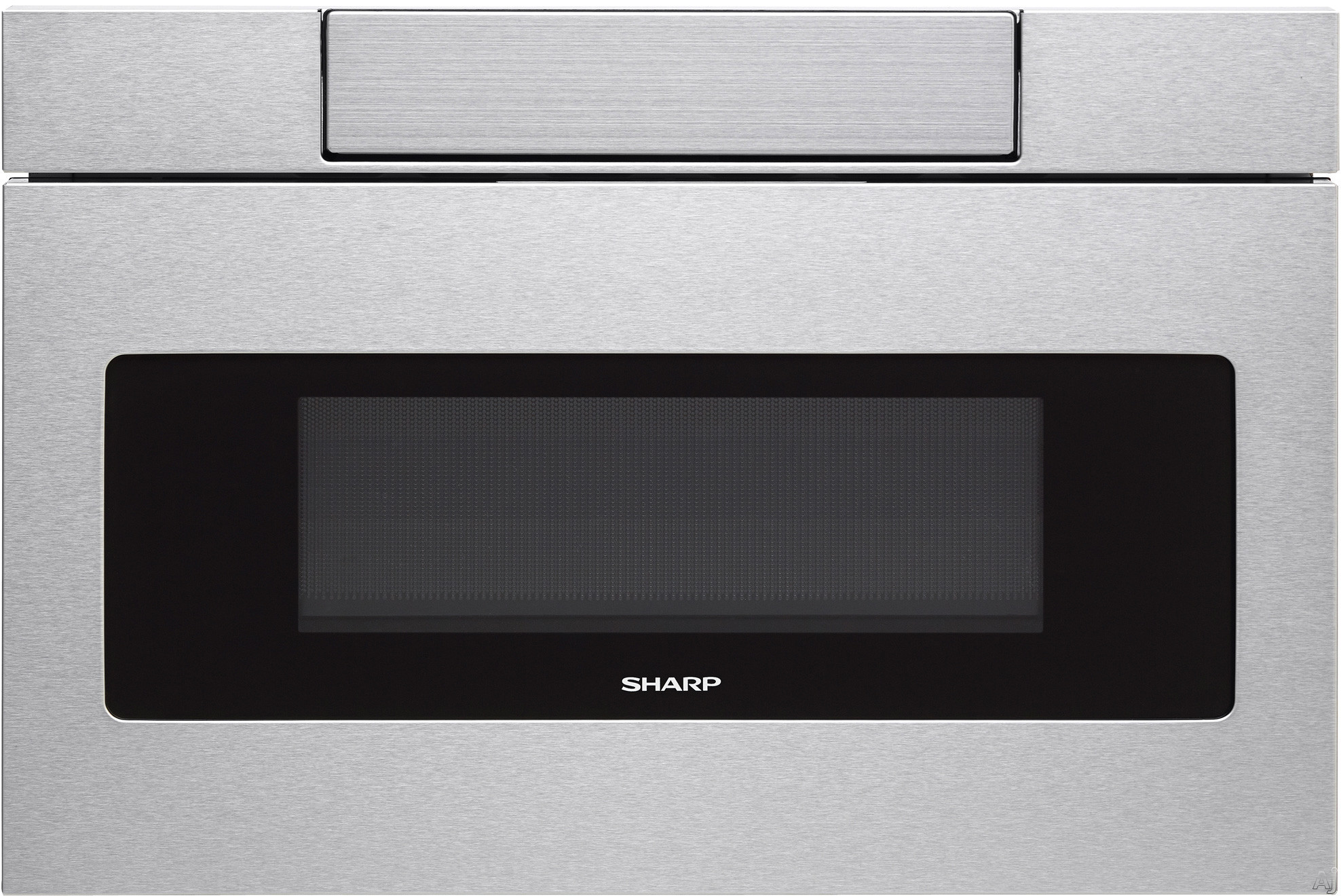 "Sharp SMD2470 24 Inch Microwave Drawer with Easy Touchâ""¢, Hidden Control Panel, Sensor Cook, Design Flexibility, Timer, 1,000 Watts, 1.2 cu. ft. Capacity, Reheat and Keep Warm"