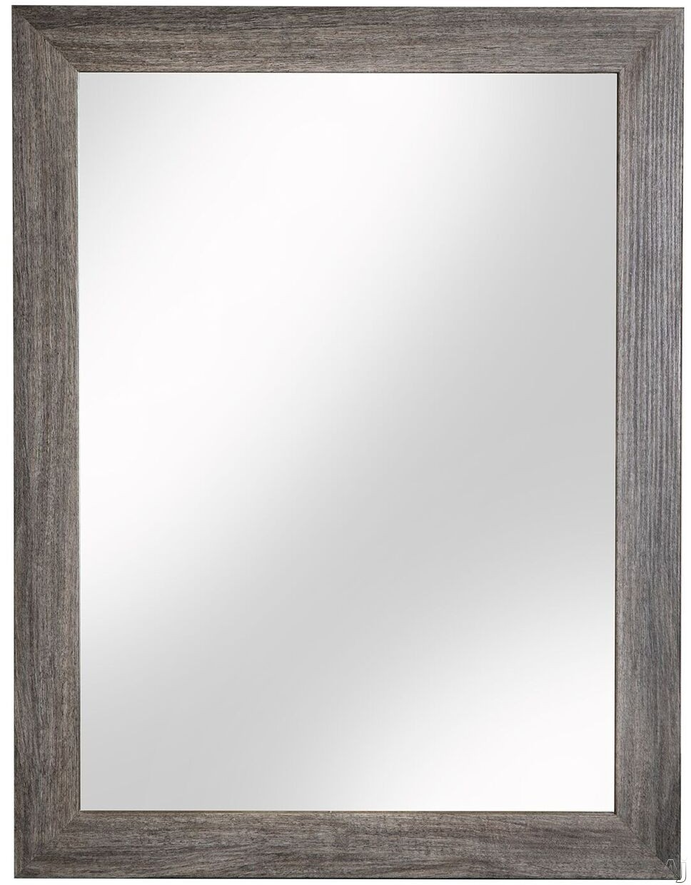 Cutler Kitchen & Bath Ivory FVCHSWMR 23 Inch Surface Mount Shaker Mirror with Shaker Style Frame, Hanging Wire and Made in Canada: Southwester