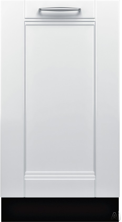 Bosch 800 Series SPV68U53UC 18 Inch Fully Integrated Dishwasher with 10 Place Settings, 6 Wash Cycles, 3 RackMatic Adjustable Racks with 9 Possible Rack Positions, ActiveTab Tray, Water Softener, Floor Indicator Light, ADA Compliant and ENERGY STAR Quali