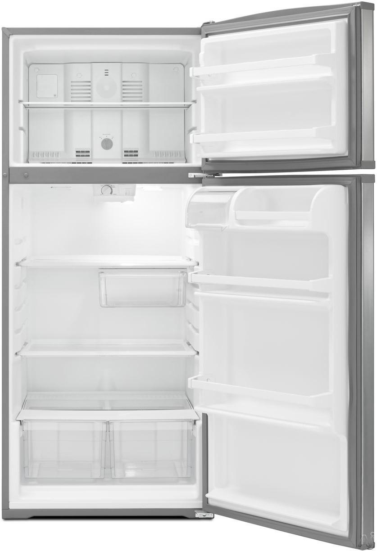 whirlpool wrt316sfdb 16 0 cu ft top freezer refrigerator. Black Bedroom Furniture Sets. Home Design Ideas