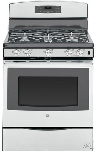 Ge jgb697sehss 30 freestanding gas range with 5 sealed for 17000 btu window air conditioner