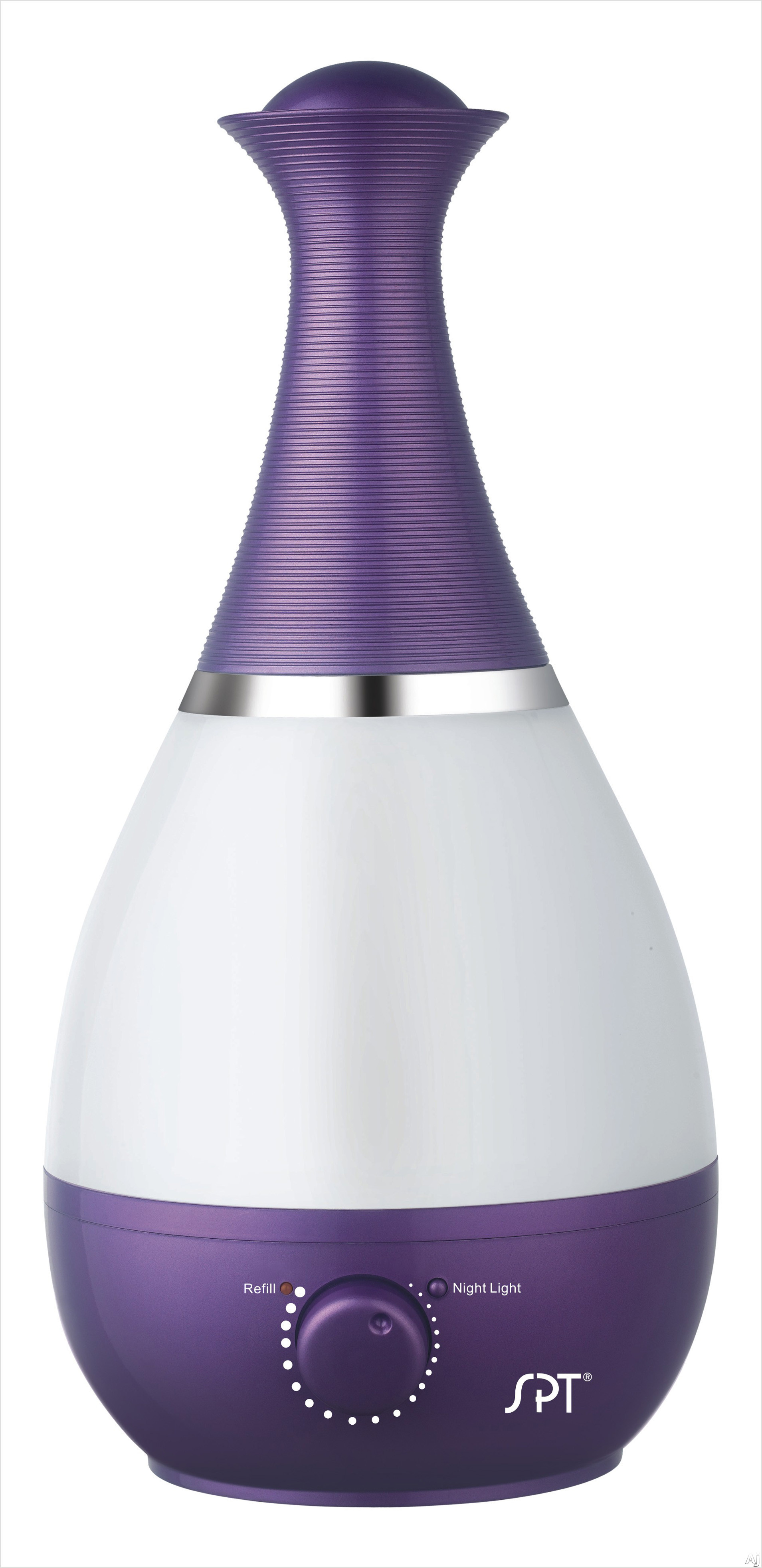 Sunpentown SU2550V Evaporative Air Cooler with Ultrasonic Humidifier and Fragrance Diffuser: Violet SU2550V