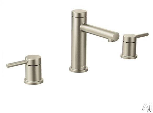Moen T6193X Double Lever Widespread Bath Faucet with High Arc Spout and Chrome Finish