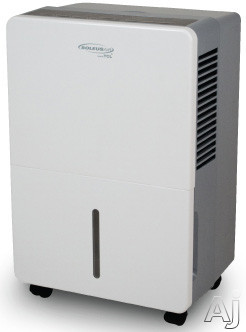 Soleus TDA45E 45 Pint Capacity Dehumidifier with R-410A Refrigerant, 8.5 Pints Bucket Capacity, 3 Preset Modes, Automatic Defrost, Bucket Full Indicator and Energy Star