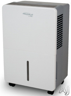 Soleus TDA70E 70 Pint Capacity Dehumidifier with R-410A Refrigerant, 16.9 Pints Bucket Capacity, 3 Preset Modes, Automatic Defrost, Bucket Full Indicator and Energy Star