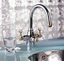 Franke Triflow Series TFB300 Bath Faucet with Filtration: Polished Chrome