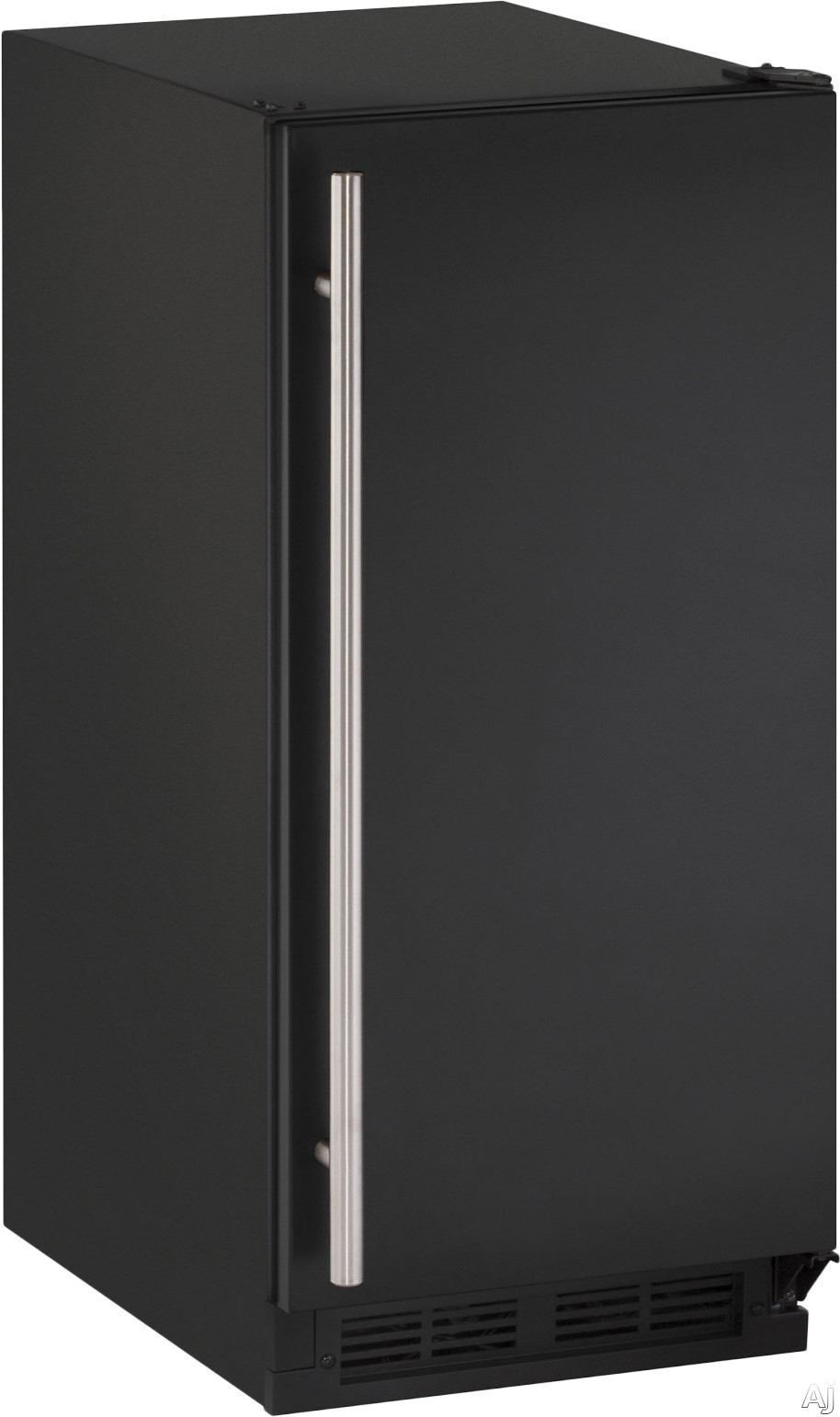U Line 1000 Series U1215RB00A 29 cu ft Built in Freestanding Compact Refrigerator with 3 Removable Tempered Glass Shelves 57 Bottle or 92 Can Capacity Digital Touch Pad Control and Energy Star Qualified Black