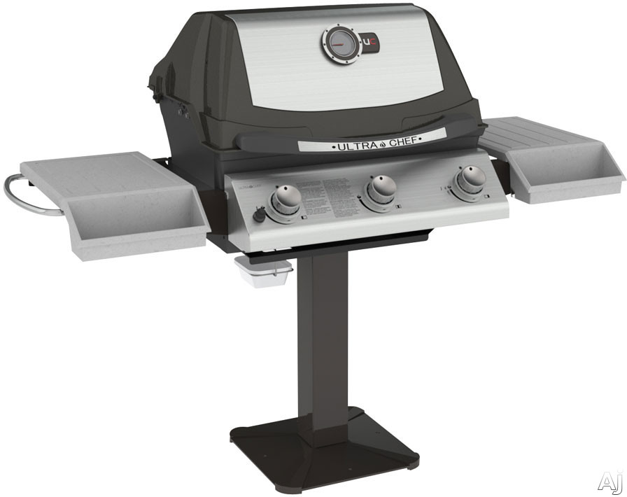 62-in. Post Mount Natural Gas Grill Head