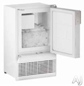 U-Line Marine/RV Series ULNWH95FC 14 Inch Undercounter Marine Crescent Ice Maker with 23 Lbs. Daily Ice Production, 12 Lbs. Ice Storage Capacity, UV and Corrosion Resistant Components, No Drain Required and Door Swing Reversible