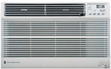 Friedrich Uni-Fit Series US10D10C 9,800 BTU Thru-the-Wall Air Conditioner with 260 CFM, 3 Fan Speeds, Defrost Control, Stale Air Exhaust and ENERGY STAR Certification US10D10C