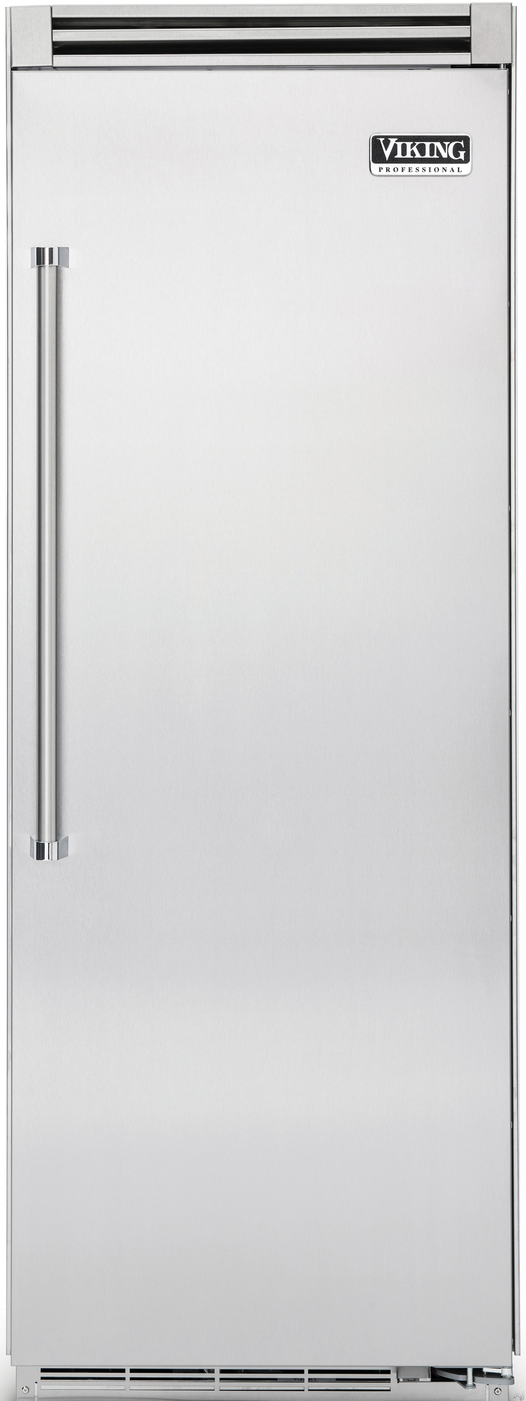 Viking Professional 5 Series VCFB5363 36 Inch Built-In Full Freezer Column with 19.2 cu. ft. Capacity, 7 Total Shelves, 2 Wire Baskets, 5 Aluminum Door Bins, Adaptive Defrost and ProChill Temperature Management System