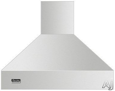 Viking Professional 5 Series VCIH53608BK 36 Inch Island Mount Chimney Range Hood with Optional Blowers, Variable Fan Speeds, Heat Sensor, Dimmable LED Lighting, Backlit LED Knobs and Commercial-Type Filters: Black VCIH53608BK