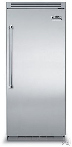 Viking Professional 5 Series VCRB5363 36 Inch Built-In Full Refrigerator with 4 Spillproof Glass Shelves, 5 Door Bins, Humidity Controlled Drawers, Plasmacluster Ion Air Purifier and Sabbath Mode