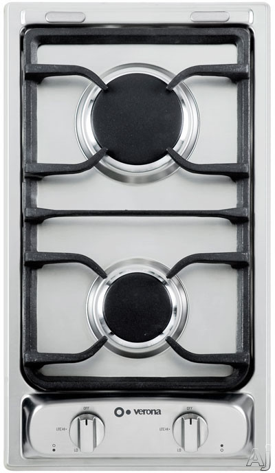 Verona VEGCT212FSS 12 Inch Gas Cooktop with
