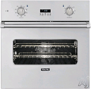 Viking Professional Custom Series VESO1302SS 30 Inch Single Electric Wall Oven with 4.7 cu. ft. Capacity, Vari-Speed Dual Flow Convection, Rapid Ready Preheat and Multiple Design Options: Stainless Steel