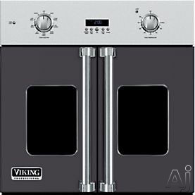 Viking Professional 7 Series VSOF730GG 30 Inch Single French Door Wall Oven with 4.7 cu. ft. Vari-Speed Dual Flow TruConvec Cooking Capacity, Gourmet-Glo Glass Enclosed Infrared Broiler, Rapid Ready P